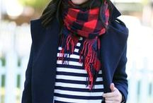 Trend alert: Red scarf