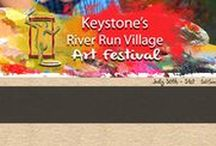 Art Festival: Keystone / July 30th - 31st, 2016. Show hours are 10am - 5pm.  Keystone Resort, located at the base of Loveland Pass, is the closest luxury resort area to Denver.