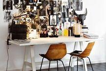 Art// Workspace + Materials