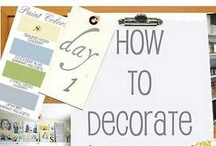 Decorating styles / by Marna Rugg Givans