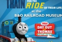 Day out with Thomas 2013 / B & O Railroad Museum in Baltimore April 26-28 & May 3-5 Tickets: www.ticketweb.com/dowt or 1.866.468.7630 Event details: www.borail.org