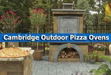 Cambridge Outdoor Pizza Ovens / Cook up delicious homemade pizzas in your own backyard with an easy-to-install pizza oven kit from Cambridge Pavingstones with Armortec. And don't stop at pizza pies, this pizza oven is perfect for roasting vegetables and baking artisan breads. / by Cambridge Pavingstones with ArmorTec