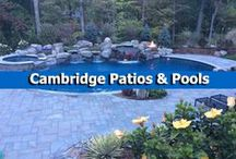 Cambridge Patios & Pools / Create a beautiful backyard pool patio with pavingstones, wallstones, and outdoor living kits from Cambridge Pavingstones with Armortec. / by Cambridge Pavingstones with ArmorTec