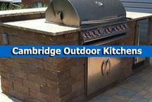 Cambridge Outdoor Kitchens / Cooking aficionados will love making tasty meals with a fully-functioning outdoor kitchen from Cambridge with Armortec. / by Cambridge Pavingstones with ArmorTec