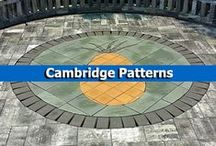Cambridge Patterns / With Cambridge Pavingstones with Armortec, the design possibilities are endless! Mix colors, sizes, and textures to create a one-of-a-kind outdoor living space. Cambridge also offers stunning design kits that can be added to any pavingstone patio, driveway, or walkway! / by Cambridge Pavingstones with ArmorTec