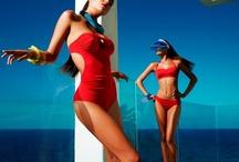 """""""Bikinis"""" Trajes de baño / by Viv Jacque"""