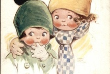 Mable Lucie Attwell / British Illustrator 1930's and 1940's / by Gretchen Tsantles