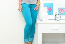 Colored Jeans / Cool pants for cool girls.