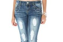 """Ripped Jeans / The ripped jeans are always """"IN""""!!"""