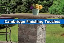 Cambridge Finishing Touches / Complete your outdoor space with these finishing touches from Cambridge Pavingstones with Armortec. They offer beautiful finishing touches that range from mailbox kits to pavingstones lights, and so much more.  / by Cambridge Pavingstones with ArmorTec