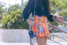 FUN skater skirts / A skater skirt has become a wardrobe staple.