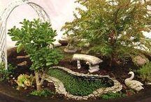 Little gardens / fairy garden, mini-garden, minature