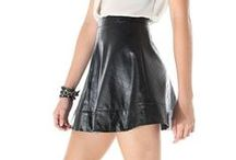 Fierce Faux Leather / The leather is imposed this season!