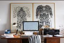 interiors: workspaces / by Elle