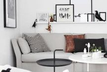 interiors: living rooms / sit-areas / by Elle