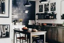 interiors: kitchens / food-areas / by Elle