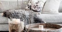 Scandinavian Style / Sparse and elegant, bright whites and moody greys; the enviable cultural notion of hygge, the clean, sophisticated and homey elements of Scandi-style