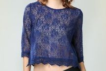 Romantic Lace  / Always elegant and sophisticated without trying so hard.