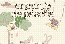 """Encanto de Páscoa / Em um universo lúdico e alegre, apresentamos a coleção exclusiva """"Encanto de Páscoa"""". Ovos, coelhos, cenouras e divertidas corujas aparecem em diversos acessórios que prometem deixar sua comemoração com um toque todo especial. http://goo.gl/dI29b7"""