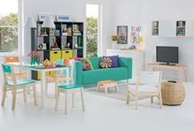 Caleidocolor | Estar e Home Cinema / Aconchego, criatividade e descontração. http://goo.gl/CFKxsJ