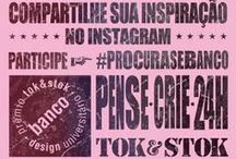 """#PROCURASEBANCO / Aqui você encontra inspirações para o seu projeto no 9º Prêmio de Design Universitário Tok&Stok.   Faça parte do nosso painel inspiracional compartilhando fotos de bancos, banquinhos, banquetas e até mesmo outros objetos que remetam ao conceito """"BANCO""""!   Não se esqueça de usar a #PROCURASEBANCO no Instagram.   Inscreva-se: http://goo.gl/JIK2AF"""