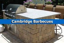 Cambridge Barbecues / Grill up tasty food right in your backyard with customizable outdoor living kits from Cambridge Pavingstones with Armortec. / by Cambridge Pavingstones with ArmorTec