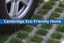Cambridge Eco-Friendly Home / Go green with your home. Cambridge Pavingstones with Armortec offers several eco-friendly outdoor living solutions, such as SolaGlo paver lights, and permeable pavement systems. / by Cambridge Pavingstones with ArmorTec