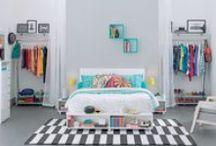 Caleidocolor | Dormir / Os quartos Caleidocolor são assim: Autênticos e contagiantes! http://goo.gl/7ucDPW