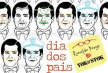 Pai Pra Toda Hora por Ronaldo Fraga / Uma coleção de produtos pra casa e uso pessoal que vai encantar todos os pais: http://goo.gl/yyeMBh