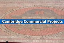 Cambridge Commercial Projects / Cambridge Pavingstones with Armortec are strong and durable, making them ideal for airport tarmacs, parking lots, and high-traffic walkways. / by Cambridge Pavingstones with ArmorTec
