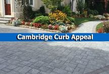 Cambridge Curb Appeal / Looking to give your home a face lift? ​A pavingstone driveway or entryway from Cambridge Pavingstones with Armortec will not only increase your curb appeal, it can also increase the value of your home.  / by Cambridge Pavingstones with ArmorTec