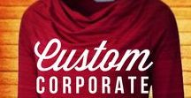 Corporate Fashion / Personalized corporate fashion is a great way to promote your company beyond the office. During the holiday seasons, any one of these apparel options becomes the perfect gift for all your employees! www.logosportswear.com
