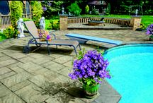 The Sherwood Collection / The Sherwood Collection features Cambridge's Ledgestone series, groups of different shapes, surfaces and design kits. The exciting patterns and other designscaping possibilities are captivating the creative motivations of professional landscape architects, designers and contractors. All Cambridge pavingstones come with Armortec, rich color that's made to last! / by Cambridge Pavingstones with ArmorTec