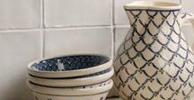 Ceramics & Clay / Art of Fired Earth, Ceramic & Clay Art, Design and Function of Clay; Ceramic and Cement Tiles, Pattern, Art and Design