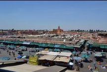 Marrakech / Pink City: vibrant and full of colors, smells and sounds