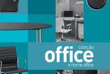 Office e Home Office 2015 / Porque o seu ambiente de trabalho também precisa de conforto e praticidade. http://bit.ly/1In0sgu