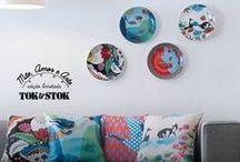 Mãe, Amor & Arte / Para ilustrar o incondicional amor das mães, convidamos quatro mulheres que destacam-se no cenário das artes plásticas. Conheça a Coleção Mãe, Amor e Arte: http://www.tokstok.com.br/maes2015