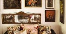 Design & Decor: Art Gatherings and Groupings, Wallhangings / Don't be shy: hang those pictures and group those collections on the walls!
