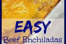 Lunch Or Dinner Recipe Ideas / All kinds of foods that I want to try out. Lunch and dinner meal ideas. / by Emily Reviews {www.EmilyReviews.com}