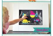 Crafty kids / Fun things to do with kids. Great projects for a rainy day. / by Petite Lemon