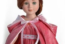 """Hand Made Doll Clothes / Doll clothes hand made in USA for 18"""" Carpatina slim dolls and for American Girl® dolls"""