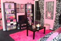 girls room / I have a teen girl, so this won't be a big board since its more for younger girls.  I will post cool ideas as I come across them. / by Laura York