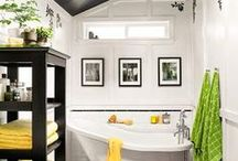 Decor~IDEAS for my BATH / Great way to organize bath ideas to inspire me, as I redo two bathrooms, after...yikes...30 years!!! / by Annie Baltierra Horsfield