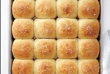 Freshly baked bread / Freshly baked breads / by Taffy Dalby