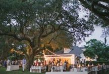 The River House at Lowndes Grove Plantation / The River House offers a scenic backdrop on the grounds of Lowndes Grove Plantation, nestled among centuries-old live oak trees and sweeping views of the Ashley River.