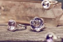Lilac Blossoms Collection / Radiant spring-filled Lilac Blossoms allow your style to bloom. A dainty and romantic collection, hues of Amethyst, Rose Amethyst, Diamonds and Chalcedony add an elegant flush of color and spring.