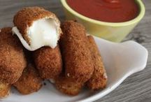 Appetizers & side dishes / Snacks appetizers and side dish recipes that I would like to try.