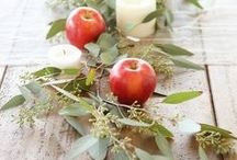 Holiday - Give Thanks - Thanksgiving / Thanksgiving and Fall (Autumn) ideas, decor and food for the feast