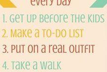 Organization - Homemaking Tips