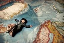 le monde sur un coin du mur / by assa T.
